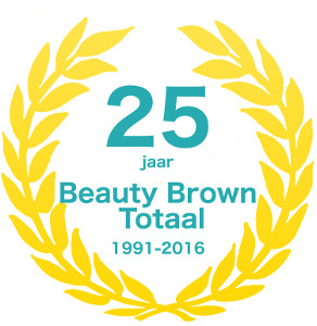 Beauty Brown 25 jaar